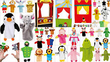 Puppets Kids Animals Glove Hand Puppet Show Finger Puppet Theatre Children Play