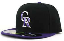New Era 5950 59FIFTY Colorado Rockies On-Field Fitted Cap Hat Various Sizes