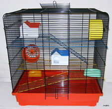 Hamster Cage,Rodent cage,Mouse cage,cage, Rat cage TOM 3 COLORS Rats