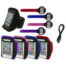 Color Running Sports Gym ArmBand+6FT Aux for iPhone 4 4G 4S 3GS S 3G 2G