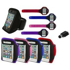 Color Running Sports Gym ArmBand+Dock Stylus for iPhone 4 4G 4S 3GS S 3G 2G