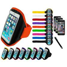 For Apple iPhone 6 (4.7) Armband Arm Band Case+3X Screen Protector+Stylus