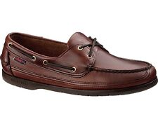 Sebago Schooner Shoe Mens Brown Oiled Waxy NEW