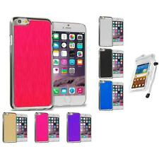 Brushed Aluminum Luxury Hard Case Cover for Apple iPhone 6 (4.7) Waterproof Bag