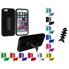For Apple iPhone 6 (4.7) Hybrid Impact Case Cover Accessory Cable Wrap