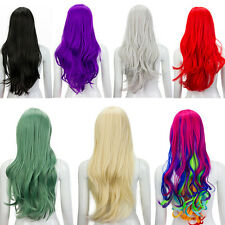 Sexy Wavy Curly Long Hair Full Wigs Women Lady Girls Fashion Cosplay Party Wig