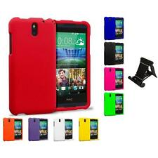 For HTC Desire 610 Hard Matte Protector Case Cover Accessory Stand Mount