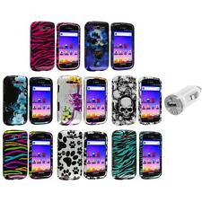 Design Hard Snap-On Case Cover+USB Charger for Samsung Galaxy S Blaze 4G T769