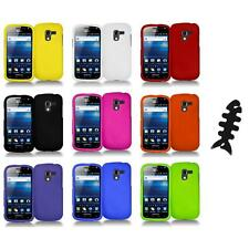 Color Hard Snap-On Case Skin Cover+Cable Wrap for Samsung Exhilarate i577