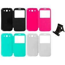 For Samsung Galaxy S3 Back Rear Slim Battery Door Cover Case Stand Mount