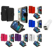 For Samsung Galaxy S5 Active Wallet Flip Pouch Case Cover Car Charger
