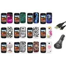 For Samsung Proclaim S720C Illusion Color Hard Design Case Cover+Charger+USB