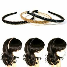 Crystal Beaded Headband Hairband Headpiece Hair Accessory Alice Band Fashion New