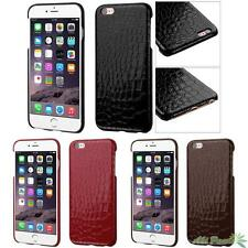 For APPLE iPhone 6 Plus,6s Plus Crocodile Skin Texture PU Back Phone Case Cover