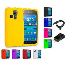 For Kyocera Hydro Icon C6730 Life C6530 Vibe Hard Matte Case Charger