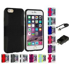 For Apple iPhone 6S (4.7) Hybrid Mesh Shockproof Skin Case Cover Accessories