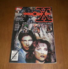 1995 THE X-FILES NO. 1 SPECIAL EDITION COMIC BOOK - TOPPS COMICS