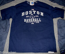 BOSTON RED SOX MLB YOUTH NAVY BLUE PRACTICE T-SHIRT MAJESTIC NWT FREE SHIPPING!