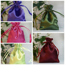 """3x3.5"""" SATIN BAGS with Pull String Wedding Party Gift Favors Pouches Wholesale"""