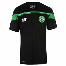New Balance Celtic FC Training Jersey Juniors Black SPL Football Soccer