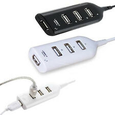 Portable USB 2.0 Hi-Speed 4-Port Splitter Hub Adapter For PC Computer Notebook