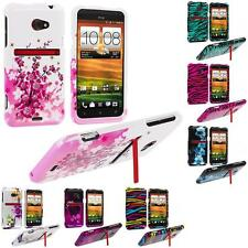 Design Hard Snap-On Case Cover for Accessory HTC EVO 4G LTE Sprint Phone