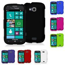 Color Hard Snap-On Rubberized Skin Case Cover for Samsung Ativ Odyssey i930