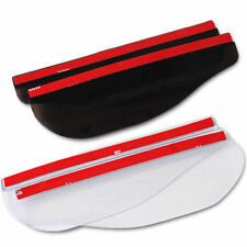 2PCS Universal Rear View Side Mirror Rain Board Sun Visor Shade Shield For Car