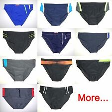 Men Man Swim Briefs Costume Slip Bathing Suit Swimsuit Swimwear Beachwear S - XL