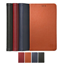 Limit Genuine Cow Leather Card Wallet Diary Cover Case For Samsung Galaxy Note5