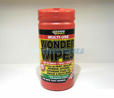 EVERBUILD WONDER MULTI PURPOSE HAND WIPES CLEANER FOR OIL & GREASE 100 TUB 1/2/3