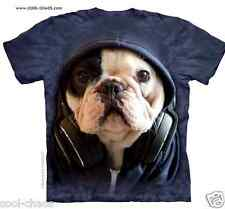 Manny the French Bulldog DJ T-Shirt/Frenchie Dog Lovers,Headphones Tshirt