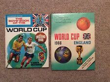 2 x 1966 World Cup Hardback Books.
