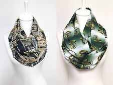 Handmade Harry Potter Hogwarts Infinity Scarf. Gift for her