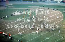 CLEVELAND BROWNS VS. PHILADELPHIA EAGLES AT CLEVELAND MUNICIPAL STADIUM 1960s #2