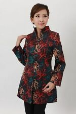 Charming Chinese Women's  jacket /coat  Sz: S M L XL XXL XXXL