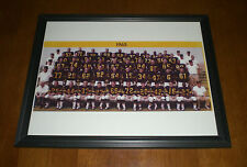 1965 PITTSBURGH STEELERS TEAM FRAMED COLOR PRINT