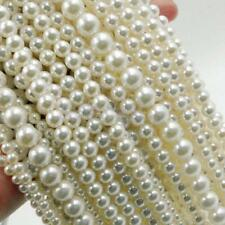 Acrylic Pearl Spacer Loose Beads DIY Jewelry Necklace Bracelet 4/6/8/10/12mm
