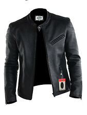 Laverapelle Men's Lamb skin Real Leather Jacket Black - 1510008