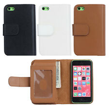 New For Apple iPhone 5 5s Phone Magnetic Case Cover Card Purse PU Leather Wallet