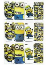 For Apple iPod Touch 4 iPhone 4 5 5S Cartoon Yellow Minions Hard Back Case Cover