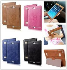 Slim Leather Smart Case Full Cover Sleep/Wake Stand For iPad Tablet w/ Belt clip