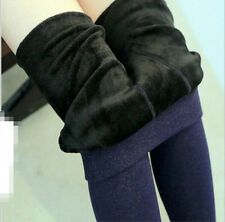 Fall and winter simple colorful cotton leggings plus thick velvet warm pants