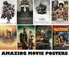Choice of AMAZING Movie Posters NEW A3, A2, A1 Art Print Posters High Quality