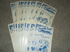 PRESTON NORTH END HOME PROGRAMMES 1960 - 4 CHOOSE FROM LIST