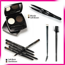 AVON PERFECT EYEBROW KIT~BROW DEFINDER~BROW COMB, BRUSH~EYEBROW STENCILS KIT