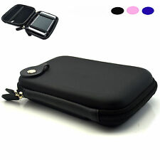 "5.0"" 5.2"" Hard Shell Case Carry Pouch GPS Bag For Garmin Nuvi TomTom Navigator"