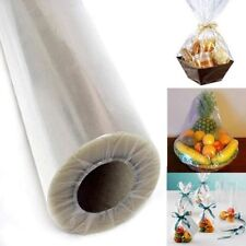 """Clear Cellophane Wrap Roll Easter Gift Baskets Wrapping Paper 40"""" in X 100'ft"""