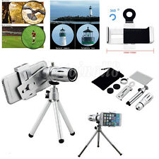 12X Zoom Camera Telephoto Telescope Lens With Mount Tripod For Samsung Galaxy S7