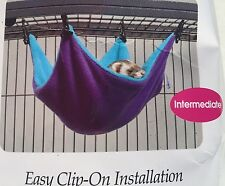 Ferret Nation Hammock for Ferret - S or L - easy & secure attachment